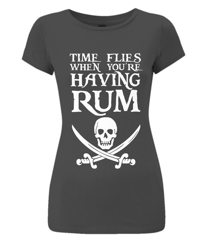 EP04 Women's Slim-Fit Jersey T-Shirt P020 Time FLies