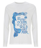 Men's Long Sleeve T-Shirt - She Dreams of the Ocean