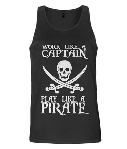 EP08 Men's Vest P016 Work like a Captain