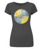 EP04 Women's Slim-Fit Jersey T-Shirt Viking - World Tour