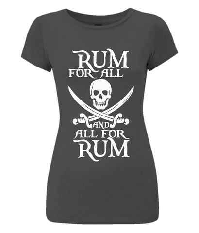 EP04 Women's Slim-Fit Jersey T-Shirt P010 Rum for All