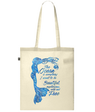 Organic Eco Tote Bag - The Ocean is Everything