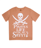 EPJ01 Junior Classic Jersey T-Shirt P007 A Pirates Life for me