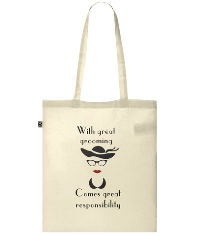 Organic Eco Tote Bag With great grooming