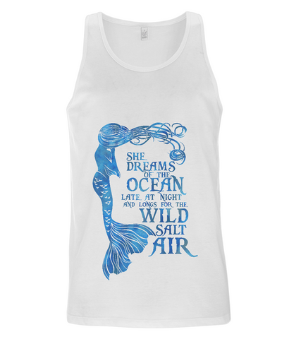 Men's Vest - She Dreams of the Ocean