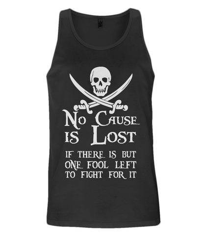 EP08 Men's Vest P009 No Cause is Lost