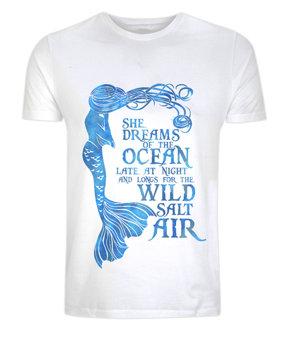 Classic Jersey Men's/Unisex T-Shirt - She Dreams of the Ocean