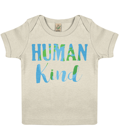 Organic Eco Baby Lap T-shirt - HumanKind