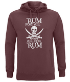 EP60P Unisex Pullover Hoodie P010 Rum for All
