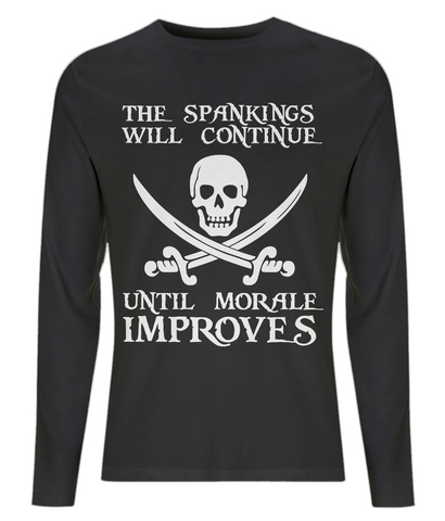 EP01L Men's Long Sleeve T-Shirt P011a Spankings will Continue