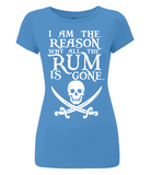 I am the Reason - Women's Slim-Fit Jersey T-Shirt EP04 - BlackSails.co.uk