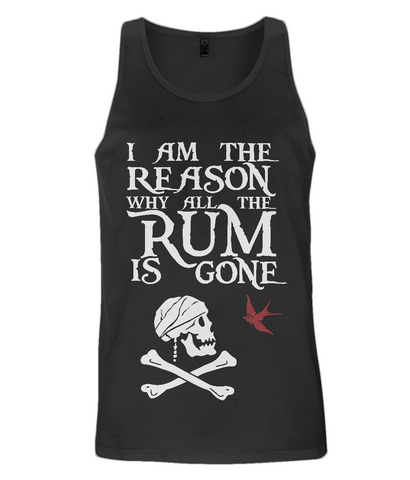 EP08 Men's Vest P018a - I am the reason...Jack Sparrow