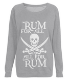 EP66 Women's Raglan Sweatshirt P010 Rum for All