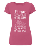 EP04 Women's Slim-Fit Jersey T-Shirt P021 Octopus on your Face
