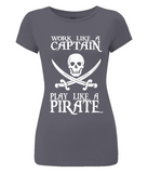 EP04 Women's Slim-Fit Jersey T-Shirt P016 Work like a Captain