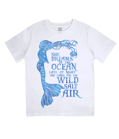 Junior Classic Jersey T-Shirt - She Dreams of the Ocean