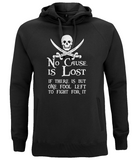 EP60P Unisex Pullover Hoodie P009 No Cause is Lost