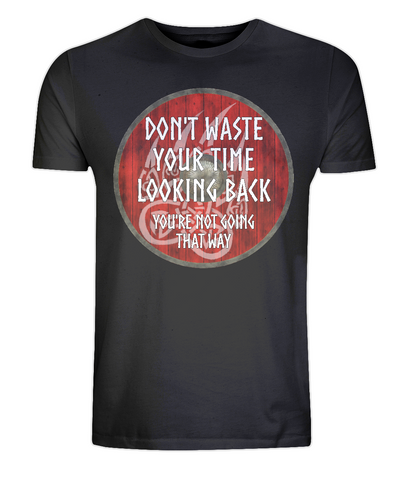 EP01: Organic Eco Unisex Viking T-Shirt - Don't waste your time