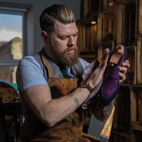 The Hand Dyed Shoe Experience