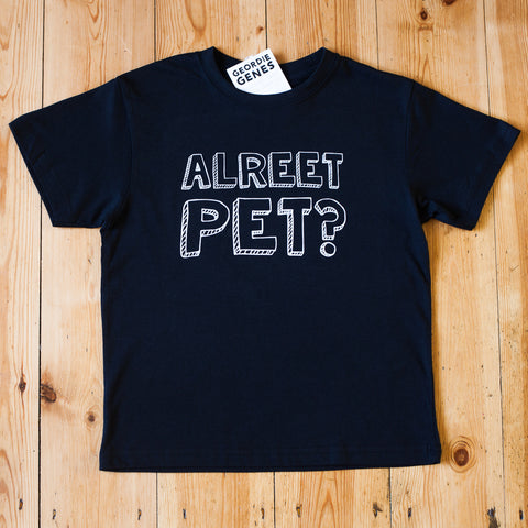 'Alreet Pet' T-Shirt in Black