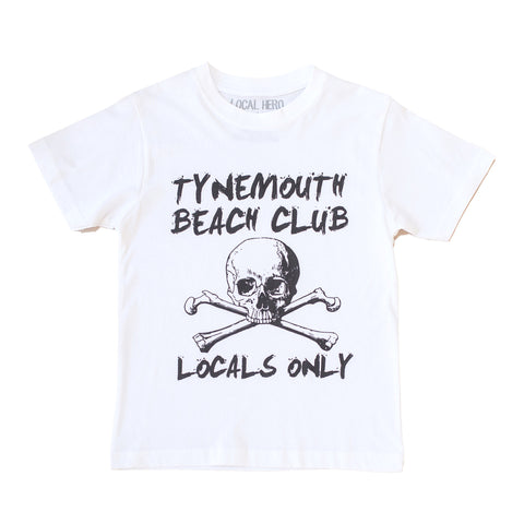Tynemouth Beach Club Locals Only Kids T-Shirt