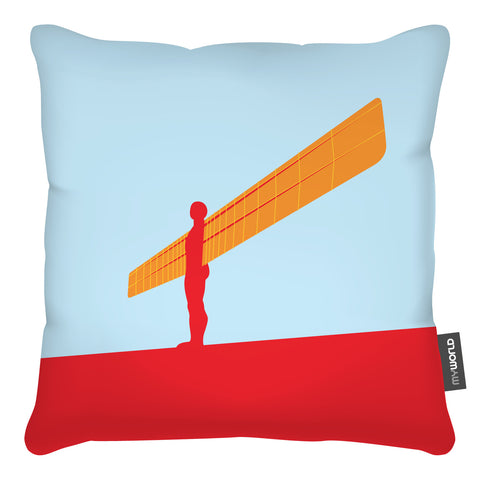 Angel of the North Cushion