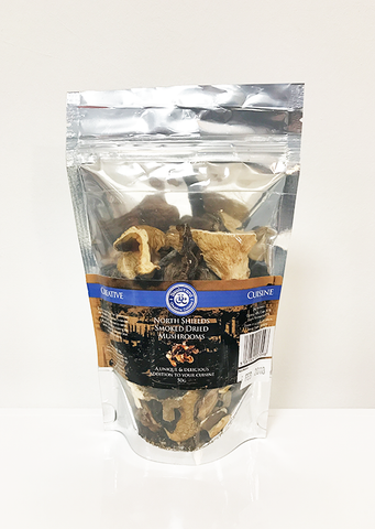 Smoked Dried Mushrooms