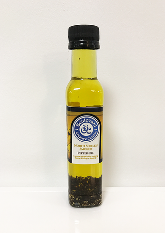 Smoked Pepper Oil
