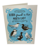 Birds of the North East Card