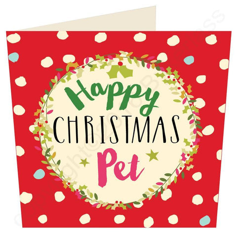 Happy Christmas Pet Geordie Christmas Card
