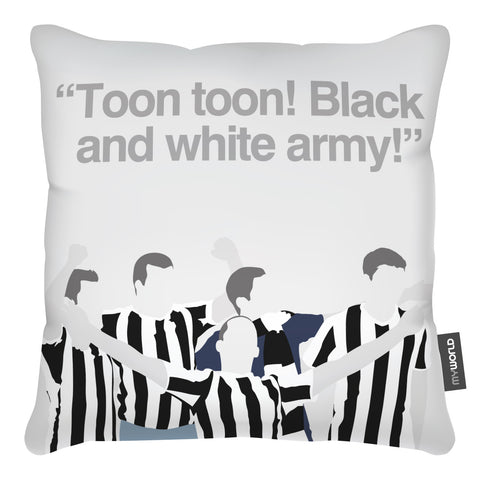 Newcastle United Football Club Fans Cushion
