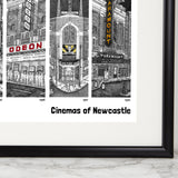 Cinemas of Newcastle Print