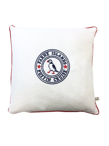 Puffin Cruise Cushion