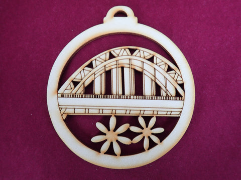 Wooden Tyne Bridge Decoration