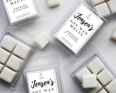 Jensen's Rhubarb & Custard Wax Melts