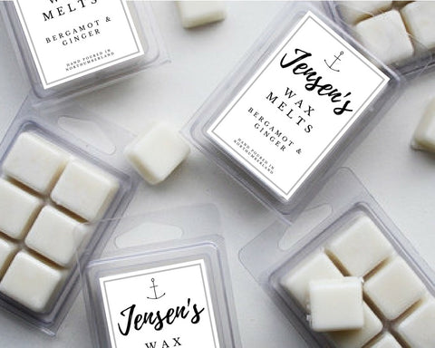 Jensen's Bergamot & Ginger Wax Melts