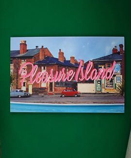 Pleasure Island Neon Art