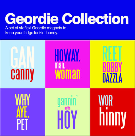 Geordie Collection Magnet Set