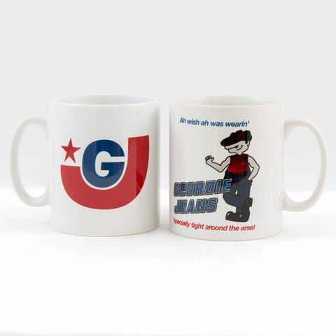 Geordie Jeans Meets Shooting Stars Mug