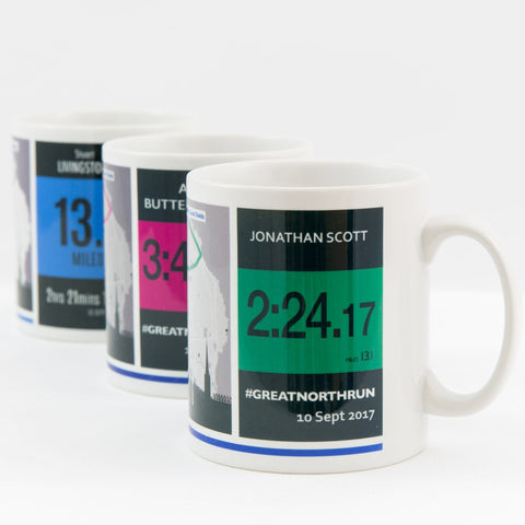 Great North Run Personalised Mug Gift