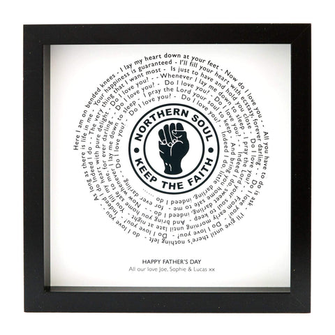 Northern Soul - Frank Wilson Do I Love You Indeed I Do - Vinyl Record Single Style Print - With Own Message