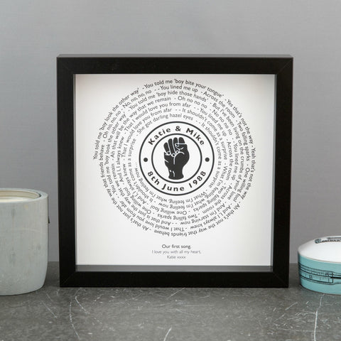 Northern Soul Vinyl Record Single Style Print - Personalised