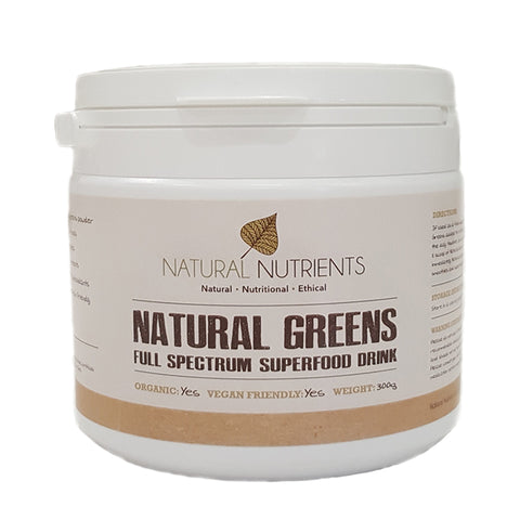 Organic Natural Greens Powder
