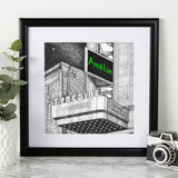 Personalised Tyneside Cinema print