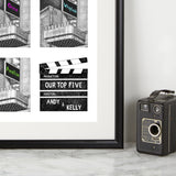 Personalised Pop Art Tyneside Cinema Print