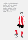 Sunderland Association Football Club Card