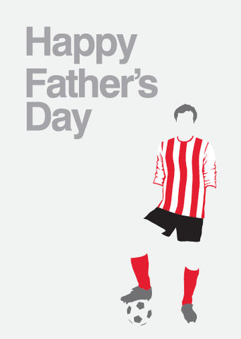 Sunderland Association Football Club Fans Father's Day Card