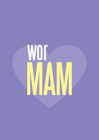 Wor Mam Mother's Day Card