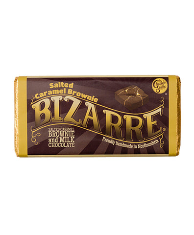 Salted Caramel Brownie Bizarre
