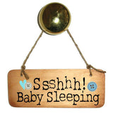 Shhh Baby Sleeping (Boy) Wooden Sign